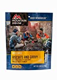 Mountain House Casa de montaña Galletas y Salsa