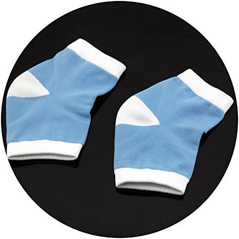1paio Gel tallone calzini per pelle secca rigida Cracked Idratante