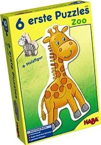 HABA 4276 - 6 erste Puzzle - Zoo