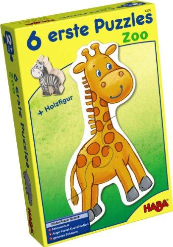 Preisvergleich Produktbild HABA 4276 - 6 erste Puzzle - Zoo