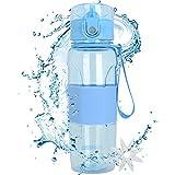 MaYee Sport Trinkflasche - 500ml BPA Frei | Wasserflasche Auslaufsicher Kunststoff | Sportflasche Fahrradflasche für Fitness,Gym,Joggen,Fahrrad,Kinder Schule