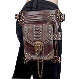 Männer Frauen Mehrzweck Drop Bein Arm Bag Pack Hüftgürtel Taille Messenger Schulter Packs Steampunk Tasche Geldbörse Tasche
