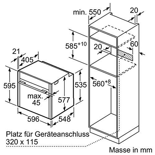 Neff BFT 4664 N Backofen Elektro / 71 L / Dampfbackofen mit 13 Beheizungsarten / edelstahl - 12