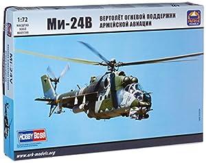 Ark Models AK72042 Mil Mi-24V - Helicóptero de Ataque de Las Fuerzas aeroespaciales Rusas Modelo de plástico
