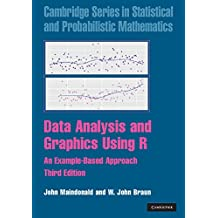 Data Analysis and Graphics Using R: An Example-Based Approach (Cambridge Series in Statistical and Probabilistic Mathematics, Band 10)
