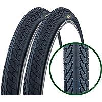 Par de Fincci Slick por Carretera de Montaña Bicicleta Híbrida Neumático Para Cubiertas Lisas Ciclismo 26