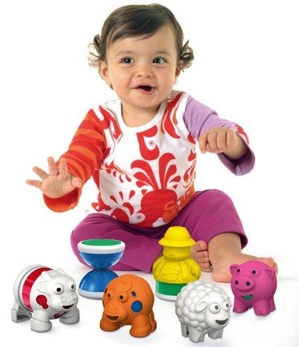 Imagen principal de Geomag Baby BABY FARM - 11 PIEZAS