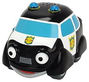 Dickie Toys 203121000Héroes de la Ciudad-Paul Policía eléctrico Coche de policía (Incluye Tarjeta de colección