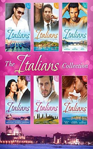 book cover of The Italians: Cristiano, Vittorio & Dario
