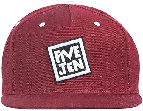 Five Ten Classic Snapback Cap - Maroon