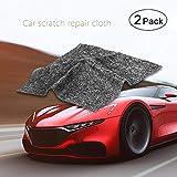 AOLVO 2 Stück Auto Kratzer Entferner Nano Tuch leichte Lackkratzer Mikrofaser Auto Oberfläche Abnutzung Polieren Reparatur Magic Cleaning Tool für Auto Beauty