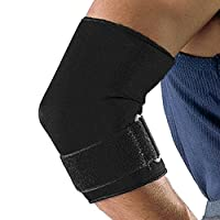 takestop® Elbow Protection Ambidextrous Support Elastic Brace Fitness with Velcro Neoprene Closure