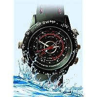 Visionaer ® caméra espion 4 Go cachée dans une montre (CCTV, DVR en G-Shock comme Montre bracelet) - 4 Go lecteur de mémoire et batterie inclus