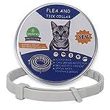 Volwco Flea and Tick Collar for Cats, Waterproof Cat Anti Flea Collar