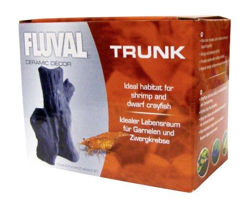 Fluval Ceramic Decor Trunk Ornament for Shrimp and Crayfish 2