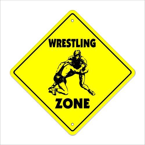 g Crossing Sign Zone Xing |-| 43,2cm Hoch Sport Wrestler Team Coach Award Trophy Uniform ()