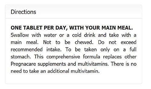 Pregnacare Vitabiotics Conception – 30 Tablets