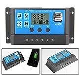 Kobwa 12V/24V 10A Bon Marché à énergie solaire chargeur solaire Hqst contrôleur d'énergie contrôleurs avec port USB écran LCD Protection de surcharge 10A...