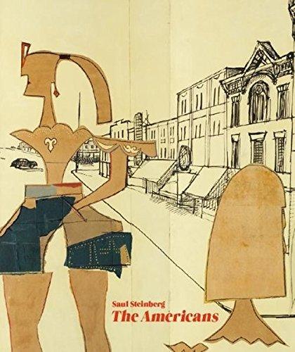 Saul Steinberg: The Americans: Kat. Museum Ludwig Cologne por Andreas Prinzing