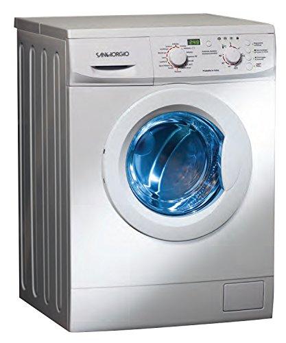 SanGiorgio SES710D Lavatrice con caricamento frontale 7kg (1000 RPM A ++ ,Libera installazione,...