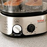 from Tefal Tefal VC101616 Simply Invents Steamer, 3 Dismantlable Plastic Bowls, Stainless Steel Model VC101616