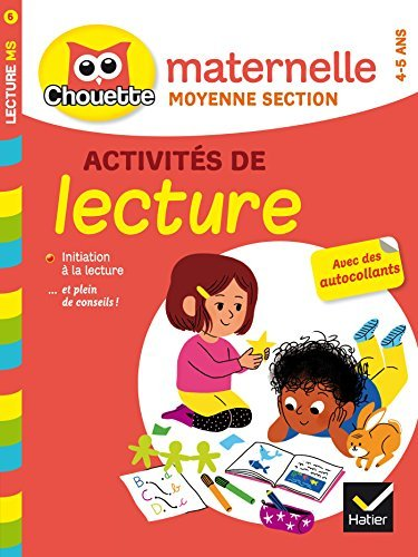 Collection Chouette: Activites De Lecture Ms (4/5 Ans) (French Edition) by Albert Cohen (2015-01-14)