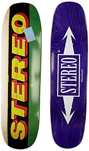 Stereo Skateboards Dollar matt Cruiser Deck, 8.625x 32.75-inch -