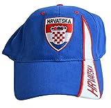 Flaggenfritze Kappe Motiv Kroatien Fahne, fan I - Cap mit kroatischer Fahne