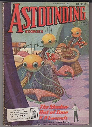 ASTOUNDING STORIES June 1936 SF Pulp LOVECRAFT - SHADOW OUT OF TIME Bel Etat