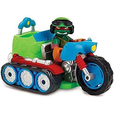 Teenage Mutant Ninja Turtles Half-Shell Heroes Tread Cycle With Raph - Pulsanti Turtle