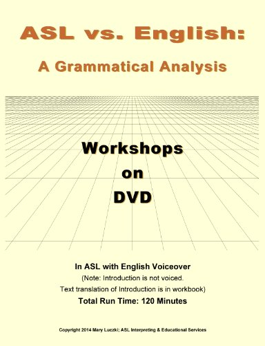 ammatical Analysis; DVD with Workbook ()