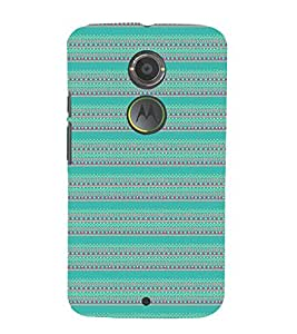 EPICCASE ethnic design Mobile Back Case Cover For Moto X 2nd Gen (Designer Case)