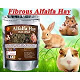 Pet Care International (PCI) Alfalfa Hay for Rabbit, Guinea Pig, Hamster, Sun Dried Diet with Rich in Vitamins D, Minerals &