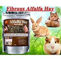 Pet Care International (PCI) Alfalfa Hay for Rabbit, Guinea Pig, Hamster, Sun Dried Diet with Rich in Vitamins D…