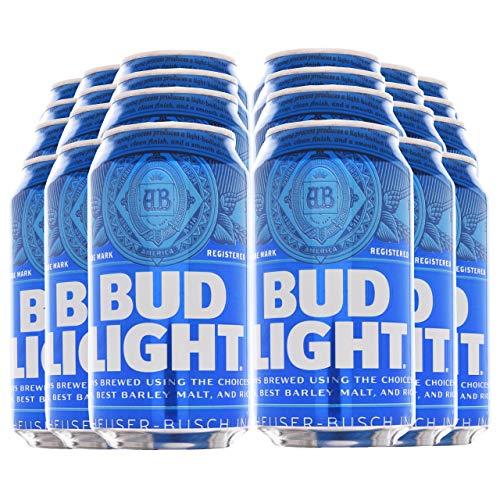 Bud Light Männer (BUD LIGHT® - Dosenbier 24 x 355ml amerikanisches Bier, American Beer | Das NO.1 aus den USA als Original Importware, auch als perfektes Bier Geschenk für Männer)