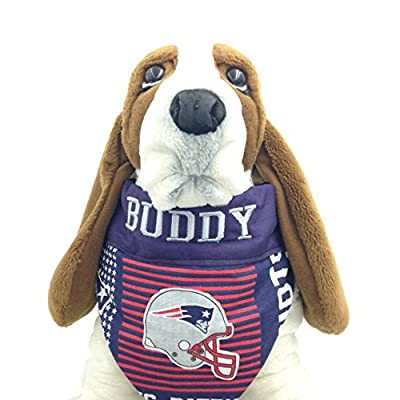 happypettag Pet Bandana - Personalized Pet Bandana NFL New England Patriots Dog Bandana Cat Bandana Handmade Pet Scarf Personalized Dog Collar Dog Gift