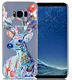 Samsung Galaxy S8 Plus H�lle,Samsung Galaxy S8 Plus Luminous H�lle Case,Roreikes Weiche TPU Silikon Luminous Schutz Handy H�lle Handytasche Etui Schale Klar Clear Transparent Leuchten Back Case Tasche F�r Galaxy S8 Plus 6.2 Zoll medium image