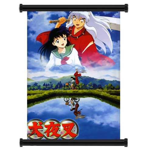 Inuyasha Anime Fabric Wall Scroll Poster (16 x 23) inches
