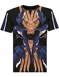 T-Shirt Unkut Cobalt Noir