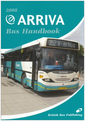 The Arriva Bus Handbook 2008 (Bus Handbooks) (Arriva Bus)