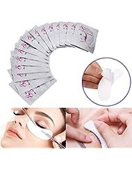 ROKOO 50/100/200 paires de tampons pour les yeux masque de cils sans masque pour les yeux