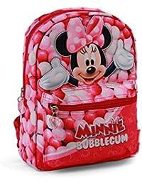 Karactermania Minnie Mouse Bubblegum Mochila infantil reversible, 31 cm, Rosa