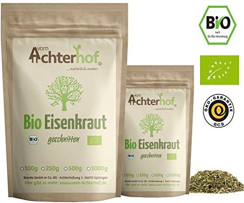 Eisenkraut Tee Bio (250g) | Verbene Tee Bio | Verbenentee | Verbena cut organic vom Achterhof