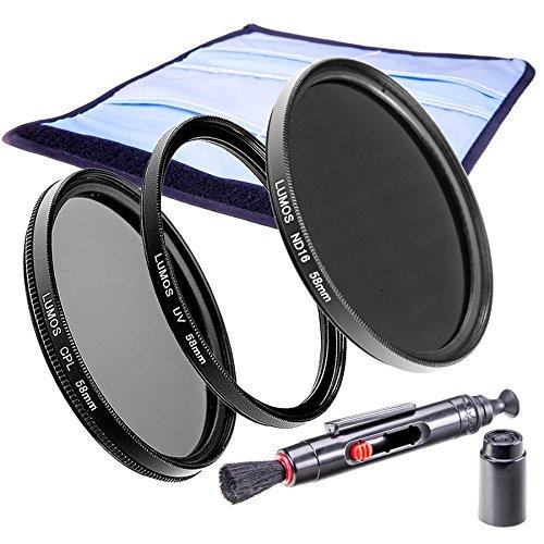 58mm Slim CPL Polfilter UV Filter Graufilter ND 16 | LUMOS Creative Kamera Objektiv Filter Set 58 mm (Creative Sigma)