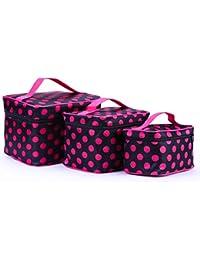 HOYOFO Large Volume Travel Wash Organizer Case Toiletry/Cosmetic/Make-up Bags Set of 3