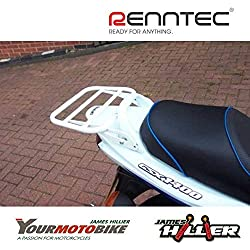 Suzuki GSX1400 (2001-2008) Luggage/Top Box Rack - White