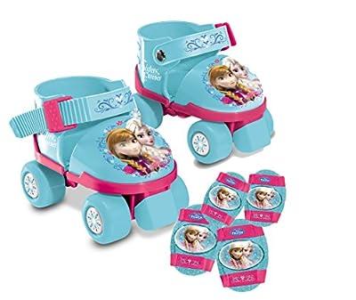 Set patines protecciones Frozen Disney de MONDO