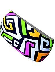 ekeko adultes fin bandeau Labyrinthe Plus + colorées