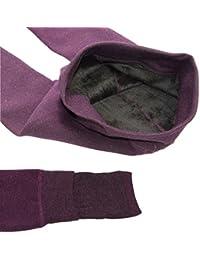 HapiLeap Leggings Para Mujer Cálido Invierno Terciopelo Elástico Leggings Pantalones Leggings de Invierno de Terciopelo Super Gruesos y Elásticos