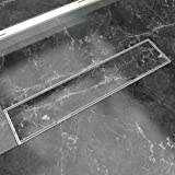 Lidco Tile Insert Shower Drain Channel For Bathrooms, Roofs, Terraces, Balconies In Marine